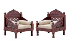 RA-6   2 pcs Deewan Chair Set