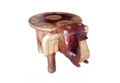 (TD-3) 1 pcs Elephant Stool set (round)