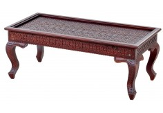 RC-4 Center Table, Fine Carving
