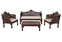 (RA-8) 4 pcs Classic Set, dark brown