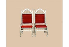 2 pcs Sankheda Wedding Chairs set