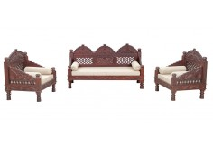 (RA-6) 3 pcs Deewan Sofa & Chair Set