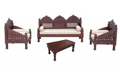 (RA-6) 4 pcs Deewan Sofa & Chair Set