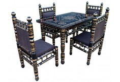 4 Chairs Sankheda Dining Set