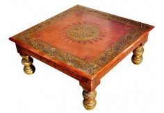 (RA-1) Pidha Table (copper finish)