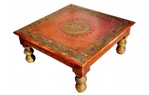 (RA-1T) Pidha Table (copper finished)