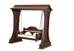 (WC-7) Carved Swing Royal