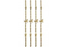 (BS-2) Brass Chain Set (with animal figure)