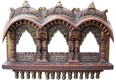 (TD-13) Decorative Wall Panel / Jharokha (3 windows)