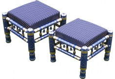 (SST) 2 pcs Sankheda Stool Set