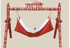 Sankheda Mini Swing (Red Gold)