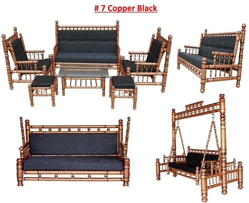 # 7 Copper Black with black cushions
